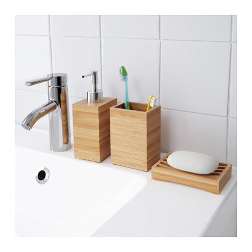 DRAGAN - toothbrush holder, bamboo | IKEA Hong Kong and Macau - PE570685_S4