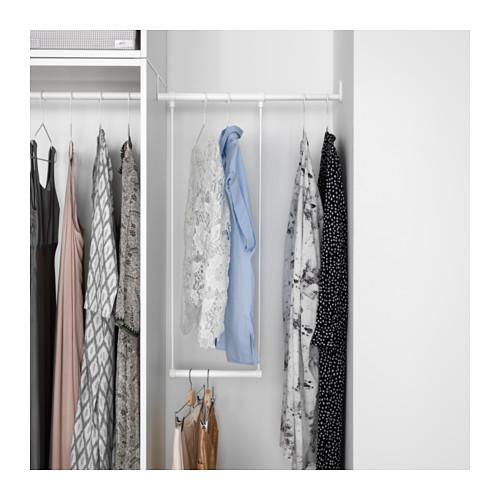PLATSA - wardrobe, white/Fonnes white | IKEA Hong Kong and Macau - PE633300_S4