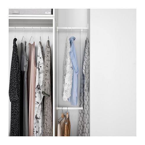 PLATSA - wardrobe, white/Fonnes white | IKEA Hong Kong and Macau - PE633310_S4