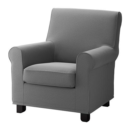 GRÖNLID - 扶手椅, Ljungen 暗灰色 | IKEA 香港及澳門 - PE681238_S4