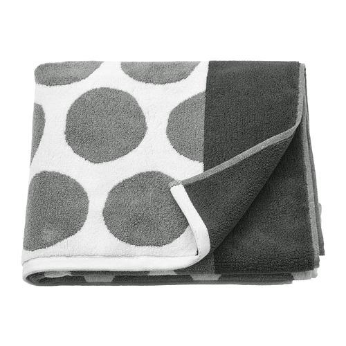 SJÖVALLA - 浴巾, 炭黑色/白色 | IKEA 香港及澳門 - PE769161_S4