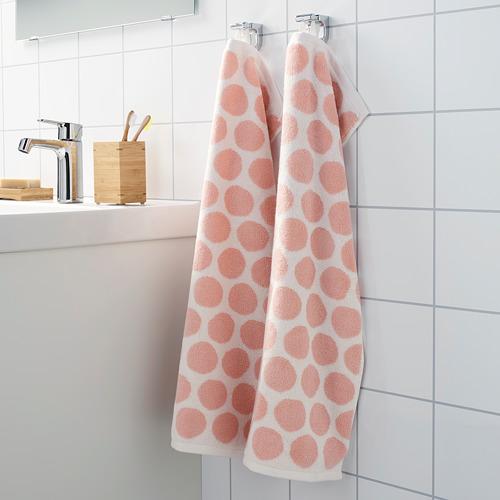 SJÖVALLA - 毛巾, 淺粉紅色/白色 | IKEA 香港及澳門 - PE769152_S4