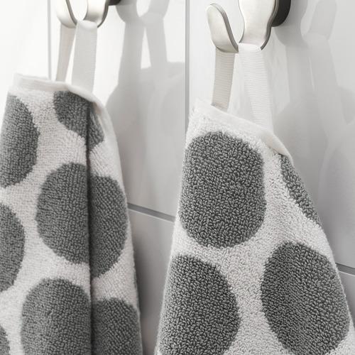 SJÖVALLA - 毛巾, 炭黑色/白色 | IKEA 香港及澳門 - PE769157_S4