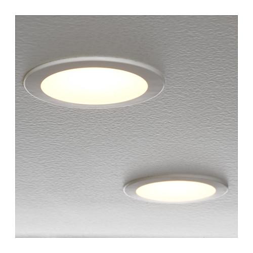 LAKENE - LED射燈, 奶白色   IKEA 香港及澳門 - PE633323_S4
