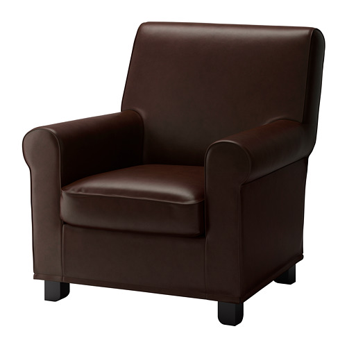 GRÖNLID - armchair, Kimstad dark brown | IKEA Hong Kong and Macau - PE681242_S4