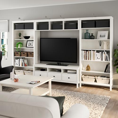 HEMNES - 電視貯物組合, 染白 | IKEA 香港及澳門 - PE725280_S4