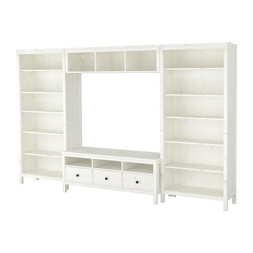 HEMNES - 電視貯物組合, 染白 | IKEA 香港及澳門 - PE725277_S4