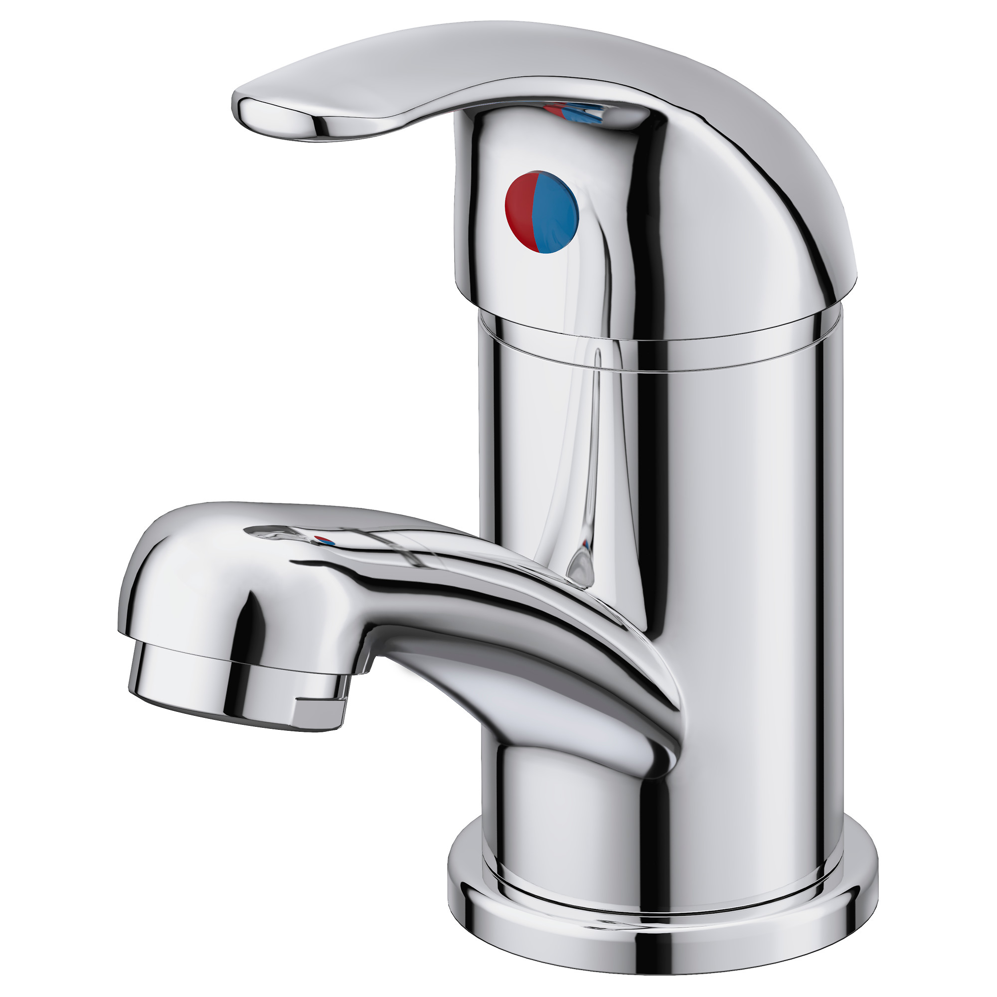 OlskÄr Wash Basin Mixer Tap Chrome