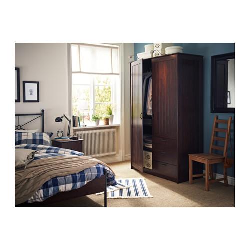MUSKEN - 雙門衣櫃組合, 褐色 | IKEA 香港及澳門 - PH121612_S4