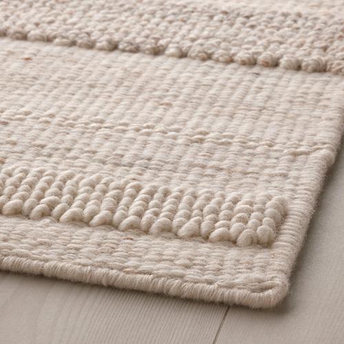 BRÖNDEN - rug, low pile, handmade beige | IKEA Hong Kong and Macau - PE769463_S4