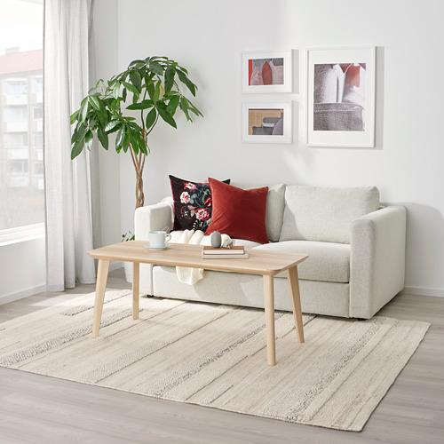 BRÖNDEN - rug, low pile, handmade beige | IKEA Hong Kong and Macau - PE769464_S4
