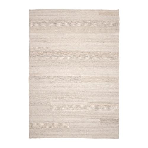 BRÖNDEN - rug, low pile, handmade beige | IKEA Hong Kong and Macau - PE769465_S4