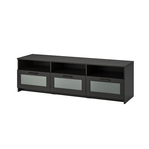 BRIMNES - TV bench, black   IKEA Hong Kong and Macau - PE725291_S4