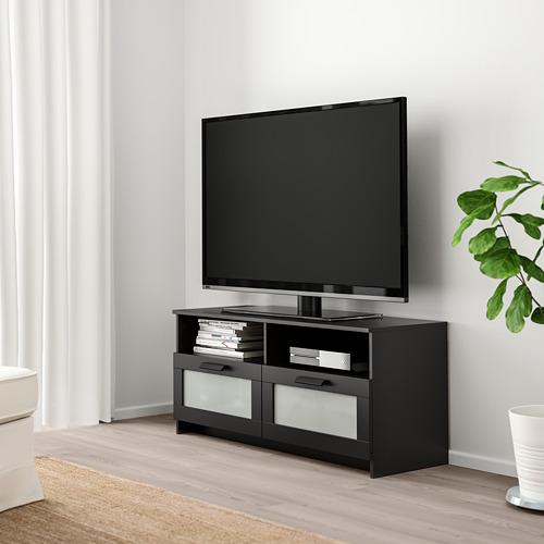 BRIMNES - 電視几, 黑色 | IKEA 香港及澳門 - PE725298_S4