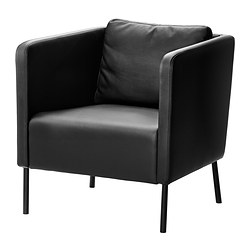 EKERÖ - armchair, Kimstad black | IKEA Hong Kong and Macau - PE359785_S3