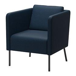 EKERÖ - 扶手椅, Skiftebo 深藍色 | IKEA 香港及澳門 - PE359788_S3