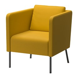 EKERÖ - armchair, Skiftebo yellow | IKEA Hong Kong and Macau - PE359787_S3
