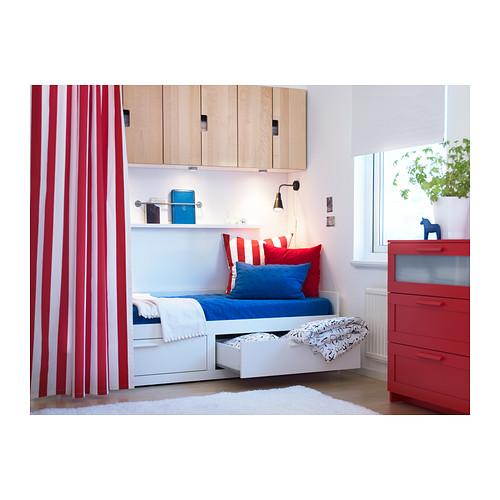 BRIMNES - 日間床連2抽屜及2床褥, 白色/Malfors 高度承托 | IKEA 香港及澳門 - PE342031_S4