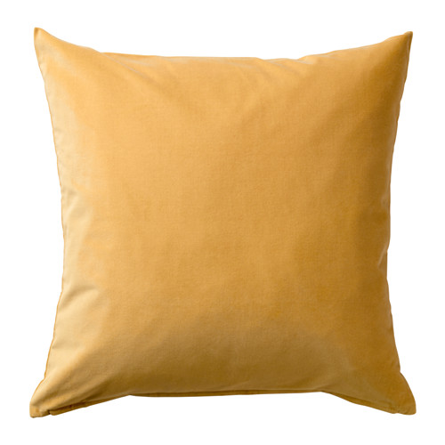 SANELA - cushion cover, golden-brown | IKEA Hong Kong and Macau - PE633588_S4