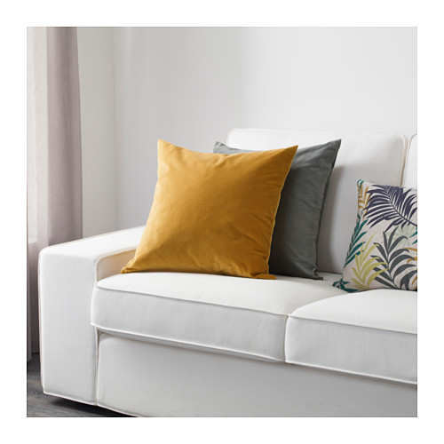 SANELA - cushion cover, golden-brown | IKEA Hong Kong and Macau - PE633589_S4