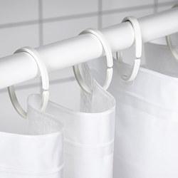 HASSJÖN - shower curtain ring, white | IKEA Hong Kong and Macau - PE769339_S3
