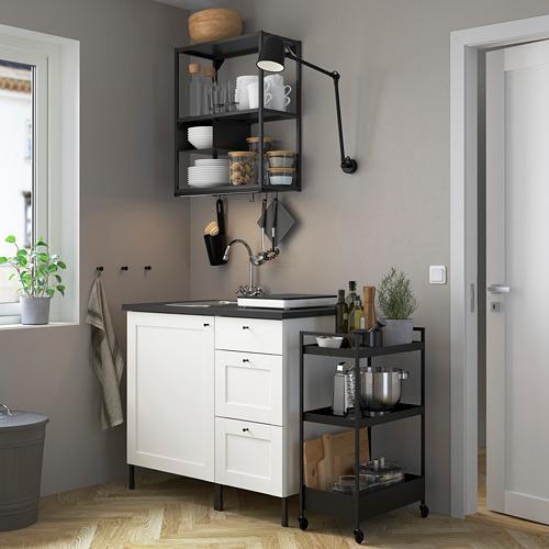 SKYDRAG - LED櫃台板抽屜燈附感應器, 可調式 炭黑色   IKEA 香港及澳門 - PE782801_S4