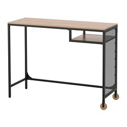 FJÄLLBO - 電腦檯, 100x36x75 cm, 黑色 | IKEA 香港及澳門 - PE681514_S3
