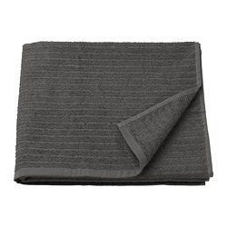 VÅGSJÖN - bath towel, dark grey | IKEA Hong Kong and Macau - PE681580_S3