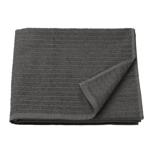 VÅGSJÖN - bath towel, dark grey | IKEA Hong Kong and Macau - PE681580_S4