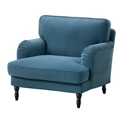 STOCKSUND - armchair, Ljungen blue/black/wood | IKEA Hong Kong and Macau - PE575040_S3