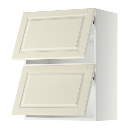METOD - 雙門橫吊櫃, 白色/Bodbyn 灰白色   IKEA 香港及澳門 - PE358650_S4