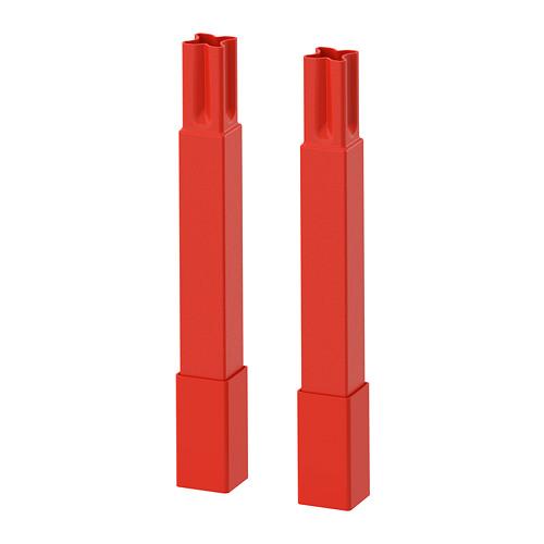 ENHET - 框架支腳, 橙紅色 | IKEA 香港及澳門 - PE769523_S4
