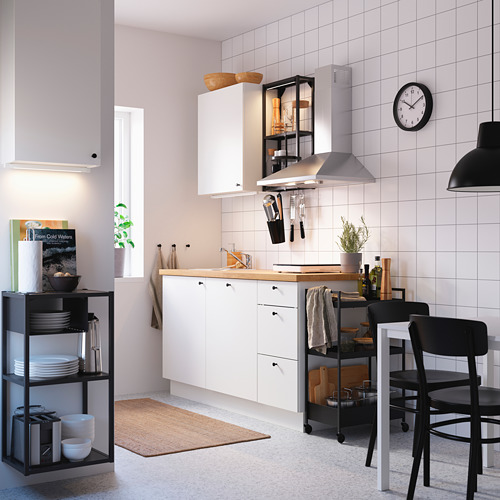 ENHET - 上牆式貯物架組合, anthracite/white | IKEA 香港及澳門 - PE783114_S4