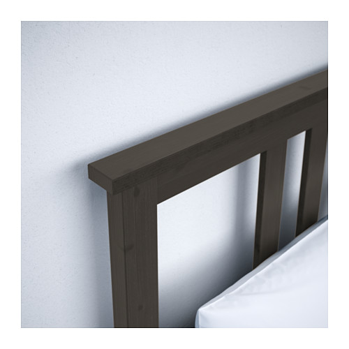 HEMNES - bed frame, black-brown | IKEA Hong Kong and Macau - PE566721_S4