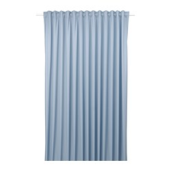 BENGTA - block-out curtain, 1 length, blue | IKEA Hong Kong and Macau - PE769558_S3