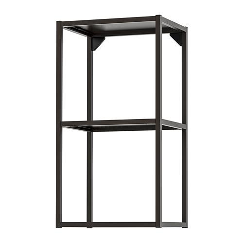 ENHET - 吊櫃框連層板, 炭黑色 | IKEA 香港及澳門 - PE769566_S4