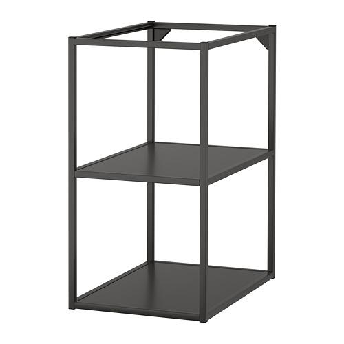 ENHET - 底框連層板, 炭黑色 | IKEA 香港及澳門 - PE769574_S4