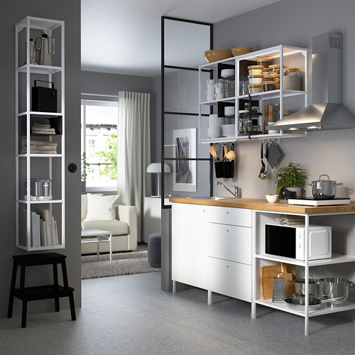 ENHET - 上牆式貯物架組合, 白色 | IKEA 香港及澳門 - PE783127_S4
