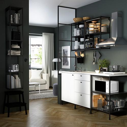 ENHET - 上牆式貯物架組合, 炭黑色 | IKEA 香港及澳門 - PE783132_S4