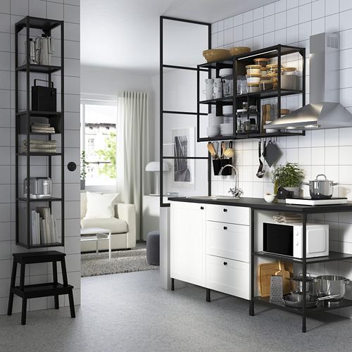 SKYDRAG - LED櫃台板抽屜燈附感應器, 可調式 炭黑色   IKEA 香港及澳門 - PE783133_S4