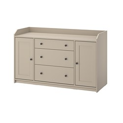 HAUGA - sideboard, beige | IKEA Hong Kong and Macau - PE825418_S3