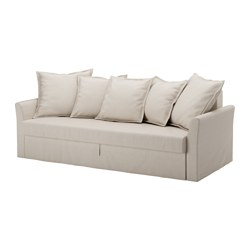 HOLMSUND - three-seat sofa-bed with storage, Nordvalla beige | IKEA Hong Kong and Macau - PE577546_S3