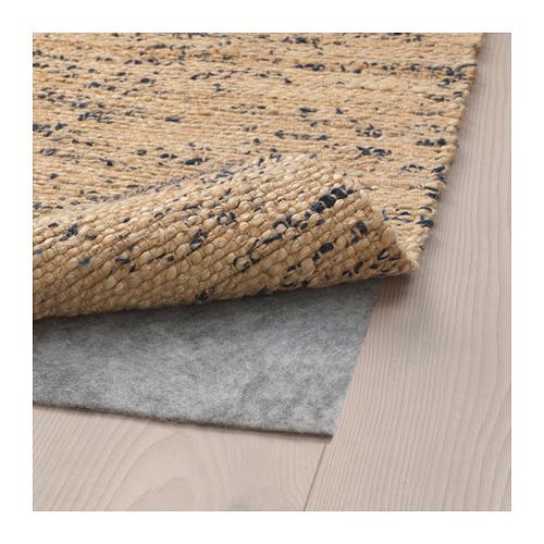 MELHOLT - rug, flatwoven, handmade natural/dark blue   IKEA Hong Kong and Macau - PE681772_S4