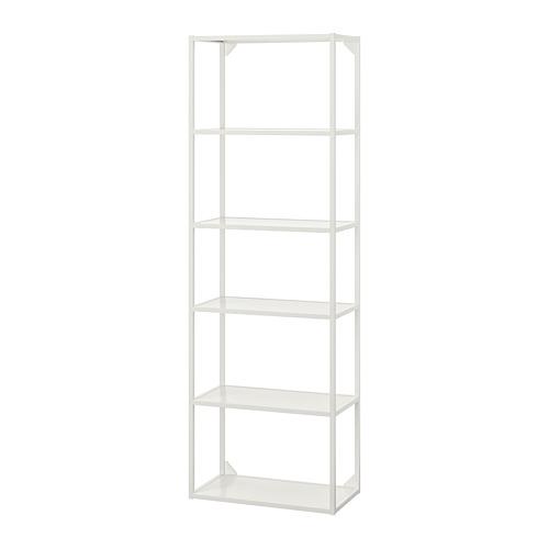 ENHET - 高櫃框架連層板, 白色 | IKEA 香港及澳門 - PE769584_S4