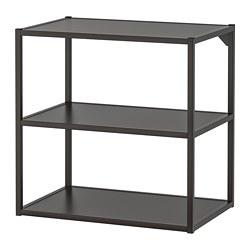 ENHET - 底框連層板, 炭黑色 | IKEA 香港及澳門 - PE769586_S3