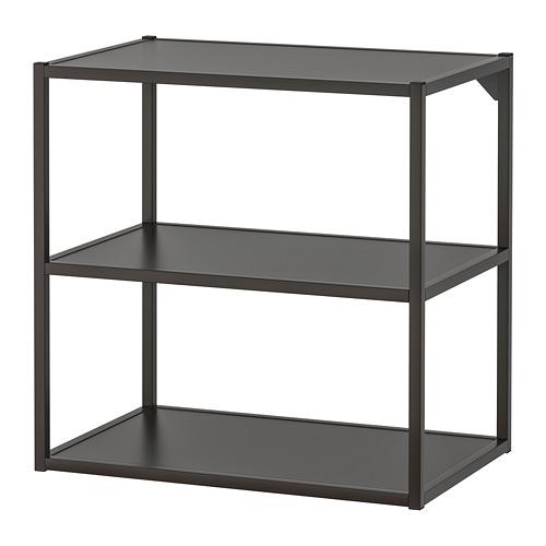 ENHET - 底框連層板, 炭黑色 | IKEA 香港及澳門 - PE769586_S4