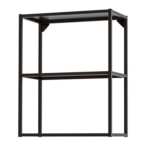 ENHET - 吊櫃框連層板, 炭黑色   IKEA 香港及澳門 - PE769591_S4