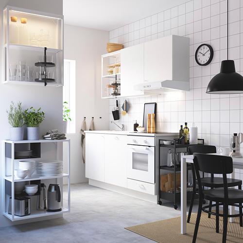 ENHET - 牆/地面貯物組合, 白色   IKEA 香港及澳門 - PE783138_S4