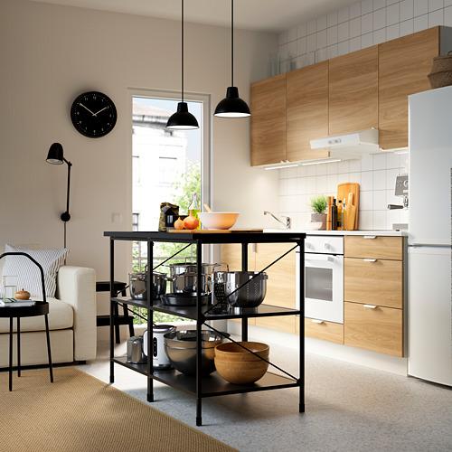 ENHET - 廚房工作檯層架組, 炭黑色 | IKEA 香港及澳門 - PE783160_S4