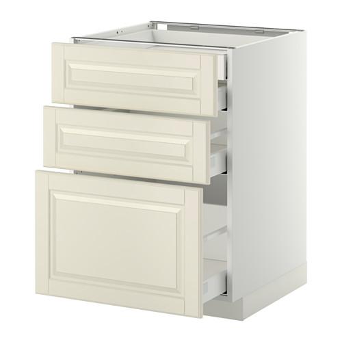 METOD - 廚櫃組合, 白色 Maximera/Bodbyn 灰白色   IKEA 香港及澳門 - PE358098_S4